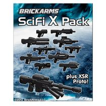 BrickArms Sci-Fi X Series Pack Plus XSR Proto