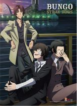 Bungo Stray Dogs - Group 03 Wall Scroll Pre-Order