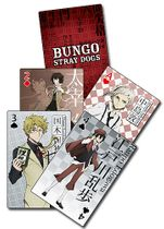 Bungo Stray Dogs - Group Playing Cards Pre-Order