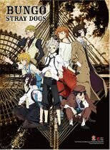 Bungo Stray Dogs - Key Art Wall Scroll Pre-Order