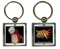 Burst Angel Jo Metal Key Chain Pre-Order