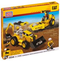 Cat Mega Bloks CAT - Road Building Unit