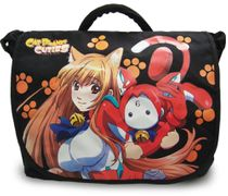 Cat Planet Cuties Eris And Assist-A-Roid Messenger Bag RETIRED