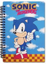 Classic Sonic Sonic Index Finger Pointing Notebook RETIRED