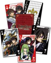 Code Geass - Group Playing Cards Pre-Order