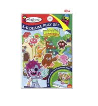 Colorforms Moshi Monsters 3D Deluxe Playset