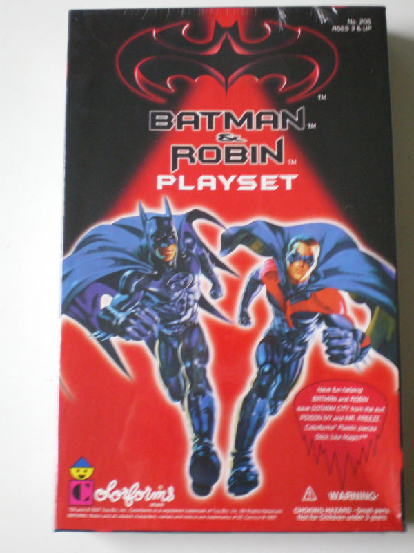 Original Batman and Robin Playset