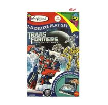 Colorforms Transformers 3D Deluxe Playset