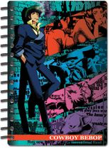 Cowboy Bebop Spike And Group Notebook RETIRED