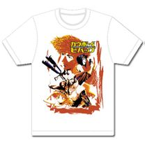 Cowboy Bebop Spike & Crew Mens Sublimation T-Shirts XL Pre-Order