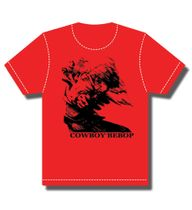 Cowboy Bebop Spike In Motion T-Shirt S Pre-Order