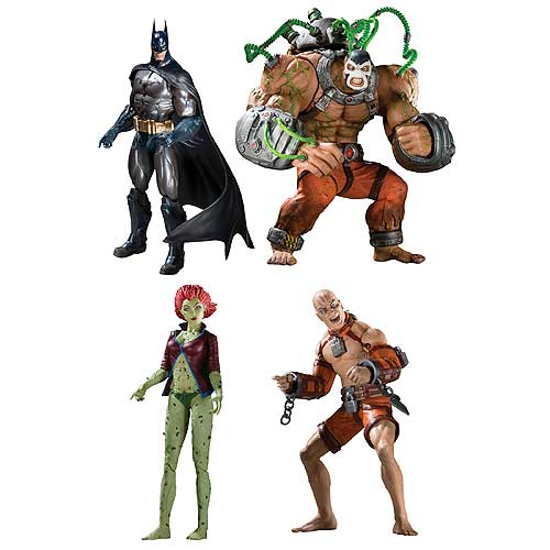 Series 2 Action Figures Set of 4 with BANE