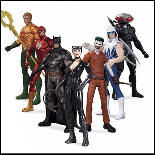 New 52 Heroes Vs. Super Villains Action Figure Box Set