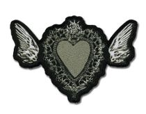Death Note Heart Patch Back Order