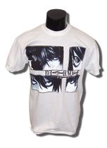 Death Note L & Kira Jrs T-Shirt XXL Back Order
