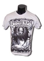 Death Note L With Skull Grey T-Shirt XXL Back Order