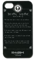 Death Note Rule Iphone 4 Case RETIRED