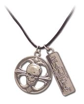 Death Note Skull Buckle Necklace Pre-Order