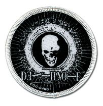 Death Note Skull Icon Patch RETIRED