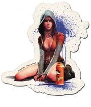 Devil May Cry Kat Sticker RETIRED
