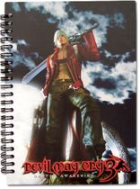 Devil May Cry Keyart Notebook RETIRED
