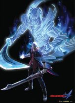 Devil May Cry Nero Wallscroll RETIRED