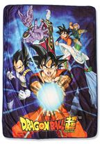 Dragon Ball Super - Group 6 Sublimation Throw Blanket Pre-Order