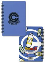 Dragon Ball Z Capsule Corp Notebook Pre-Order