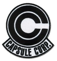 Dragon Ball Z Capsule Corp. Patch Pre-Order