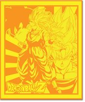 Dragon Ball Z Goku Throw Blanket RETIRED