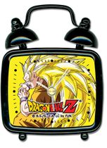 Dragon Ball Z Ss Goku Mini Desk Clock RETIRED