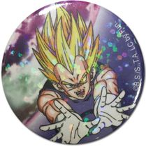 Dragon Ball Z - Super Saiyan Vegeta Glittler Button 1.25'' Pre-Order