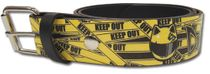 Durarara - Celty Helmet Keep Out Pu Belt L Pre-Order