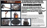 Epic Weapons: World of Warcraft DoomHammer Prop Replica WITH Base