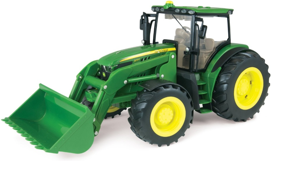 JD 6210R Tractor with Loader 1:16 Scale