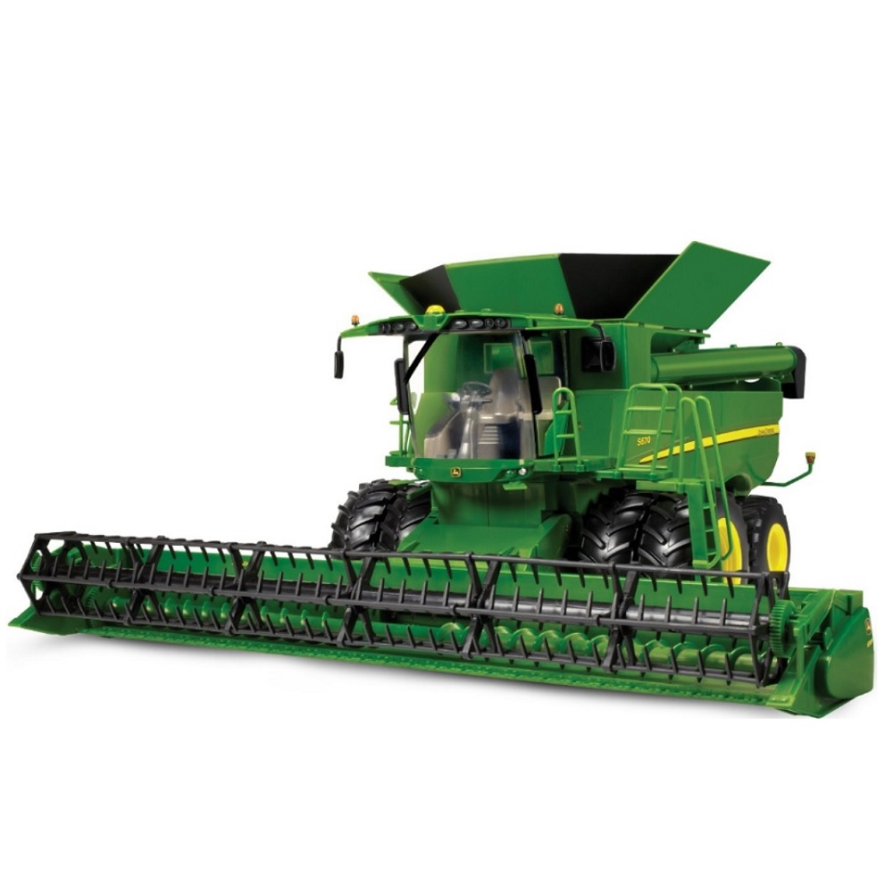 JD S670 Combine 1:16 Scale