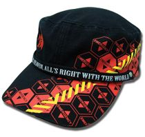 Evangelion Nerv And Magi Warning Military Hat RETIRED