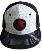 Evangelion New Movie - Mech Pattern Fitted Cap RETIRED