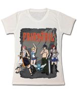Fairy Tail Beach Group Dye Sublimation Jrs T-Shirt S Pre-Order