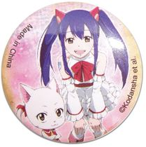 Fairy Tail - Carla & Wendy Button 1.25'' Pre-Order