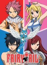 Fairy Tail Group Fabric Poster Pre-Order