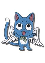 Fairy Tail Happy Flying Embroidered Patch RETIRED