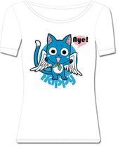 Fairy Tail Happy Girl Style T-Shirt S Back Order