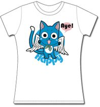 Fairy Tail Happy Jrs. T-Shirt S Back Order