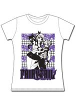 Fairy Tail Happy, Lucy, & Natsu Jrs T-Shirt M Pre-Order