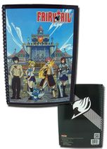 Fairy Tail Insignia & Group Spiral Notebook RETIRED