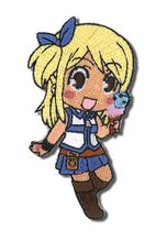 Fairy Tail Lucy Eating Embroidered Patch Pre-Order