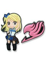 Fairy Tail Lucy & Fairy Tail Guild Pvc Pinset RETIRED