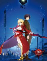 Fate/Extra Last Encore - Key Art 3 Sublimation Throw Pre-Order