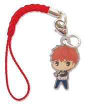 Fate/Stay Night - Shirou Sd Metal Cellphone Charm Pre-Order